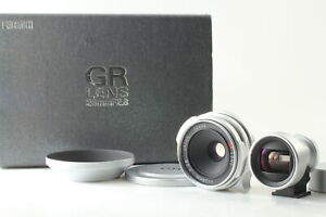 [MINT BOX S/N 00xxx] Ricoh GR Lens 28mm f2.8 Leica L39 LTM + Finder From JAPAN