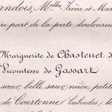 Marie Antoinette Marguerite Chastenet De Puysegur Andre Hays De Gassart 1875