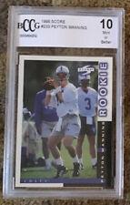 1998 Score Peyton Manning BCCG 10 Rookie RC #233