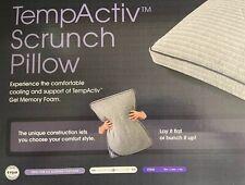 Serta iComfort Temp Activ Scrunch Pillow King Size Serta Sheep Included (101)