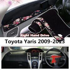 Car Dashmat Pad RHD Dashboard Cover Carpet Dash Mat Sun Shade For Toyota Yaris