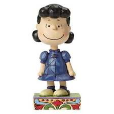 """Jim Shores PEANUTS """"Little Miss Fussbudget (Lucy)"""" 4044680 NEW & BOXED"""