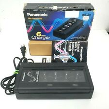 Panasonic BQ-4C 6 Hour Nickel-Cadmium Rechargeable Battery Charger AAA AA C D 9V