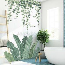 Wall Stickers Home Decal Green Plant Decoration Art Xmas Living Room Decor Mural