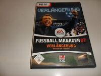 PC  Fussball Manager 07 - Verlängerung (DVD-ROM)