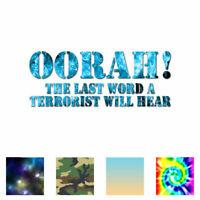"F/_ck ISIS Crosshair Anti Terrorist Decal Sticker JDM Vinyl Car Window Bumper 7/"""
