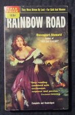 1953 RAINBOW ROAD by Davenport Steward 1st Popular Paperback VG/FN