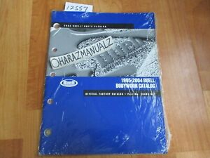 1994 1996 1997-2004 BUELL Bodywork Official Factory Parts Catalog Manual SEALED