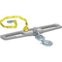 Vestil Forklift Double-Fork Hook Plate-6000-lb Cap #LM-HP6-S
