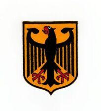 ah64 Wappen Bundesadler Deutschland Aufnäher Bügelbild Applikation 5,9 x 7,8 cm