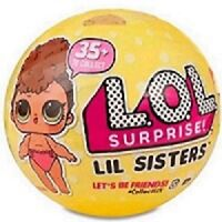 L.O.L. Surprise LIL SISTERS Series 3 Wave 1 DOLL 100% Authentic LOL Ball MGA NEW