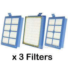 3 X EFH12W tipo de Filtro Hepa AEG Jetmaxx Ultra Silenciador Activo Maximus vacío