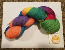 Gorgeous Indie Hand Dyed Yarn / Wool / 4 Oz (420 Yards) from the Painted Tiger