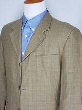 STRUCTURE Men's Linen Cotton Sport Coat Blazer Jacket Size 40
