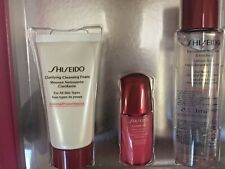 Shiseido The Gift of Cleansing Essentials Gift Box 3 products $63 Value U.S.A.