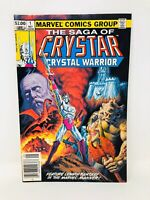 Saga of Crystar, Crystal Warrior #1 Comic Book (Marvel, 1983) FP20