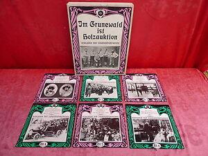 6 vieux Plaques __ les Célibataires __ Schlager Le Jahrhunderte __ Im Grünewalt