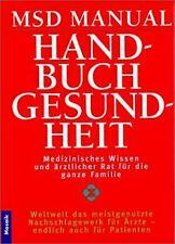 MSD Manual Handbuch Gesundheit von Robert Berkow | Buch | Zustand akzeptabel