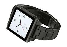 HEX HX1026-GNMT Vision Metal Watch Band for iPod Nano 6G -Gunmetal Gunmetal