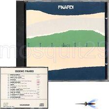 "EUGENIO FINARDI ""STRADE"" RARO CD 1984 - FUORI CATALOGO"