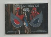 Spiderman Homecoming Costume Trading Card #WTD5 Tom Holland as Peter Parker