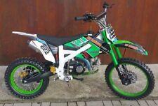 125ccm Dirtbike Pitbike 125cc 4Takt 4 Gang 17/14 Zoll Grün Enduro Cross Motor