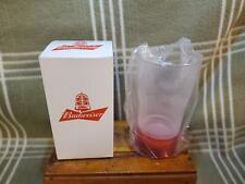 Budweiser Red Light Sync Glass NIB!