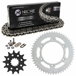 Sprocket Chain Set for Husqvarna TC610 13/52 Tooth 520 O-Ring Front Rear Kit