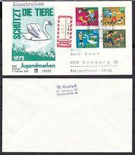 Ersttagsbrief-Briefmarken aus der BRD (1970-1979) mit Olympische Spiele-Motiv