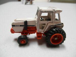 Case 2590 Ertl die cast toy tractor 2 3/4 inches white and orange