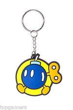 Bob-omb - Super Mario Bros - Gummi Schlüsselanhänger / keychain / keyring