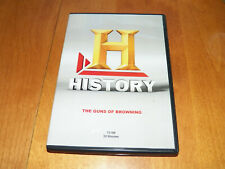 TALES OF THE GUN The Guns of BROWNING History Channel Firearms Firearm LN DVD
