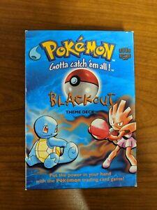 Pokemon Blackout Trading Cards Theme Deck 1999 Base Set