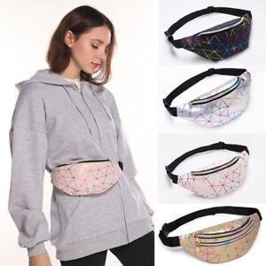 Womens Ladies Bum Bag Fanny Pack Travel Waist Money Belt Zip Pouch Wallet Holder