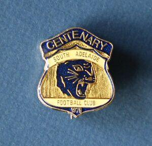 1975 Centenary South Adelaide Football Club Membership Badge SANFL