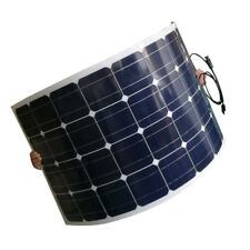 100W Flexible Solar Panel Mono Cell Photovoltaic Module for 12v Battery RV Boat
