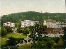 Böhmen. Marienbad. Ferdinandstrasse mit Marienbad.   PZ vintage photochromie, ph