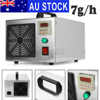 AU 7g/h Commercial Home Ozone Generator Machine Air Purifier Smoke Odor Cleaner