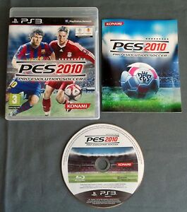 PLAYSTATION 3 PS3 Pro Evolution Soccer 2010 COMPLEET