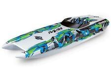 TRAXXAS DCB M41 weiß/grün 40Zoll ohne Akku/Lader BL-Catamaran-Renn-Boot Brushles