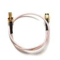 1pc cable RP.SMA male jack to female plug bulkhead crimp RG316 pigtail 30cm E0E