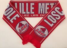 LOSC LILLE Football Scarve NEW from Superior Acrylic Yarns