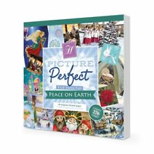 Hunkydory ~ Picture Perfect Paper Pad ~ 48 8x8 sheets ~ Peace on Earth