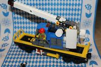 *** Lego City Eisenbahn Schienenkran aus 60198 neu mit Minifigur