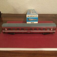 Marklin #4075 ~  FRENCH EXPRESS TRAIN COACH~ in original Blue Box