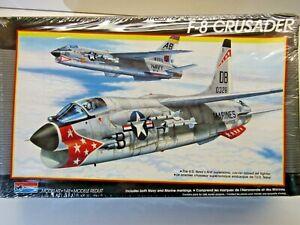 Monogram Vintage 1:48 Scale Vought F-8 Crusader Model Kit - Kit # 5826 - Sealed