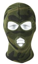 face mask 3 hole winter acrylic woodland camo rothco 5596