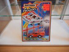 Matchbox Turbo 2 Porsche in Orange on Blister