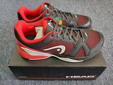 Men's Head Revolt Evo Performance Footwear Tennis Shoe Raven/Red Size 11
