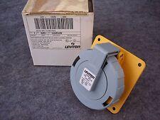 LEVITON 330R4W 30 Amp  125 Volt  PIN & SLEEVE RECEPTACLE  IP67  WATERTIGHT
